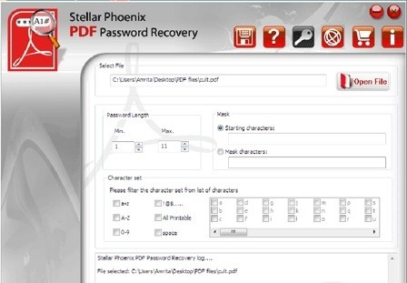 Stellar Phoenix PDF Password Recovery alexroot4 imgsrc password
