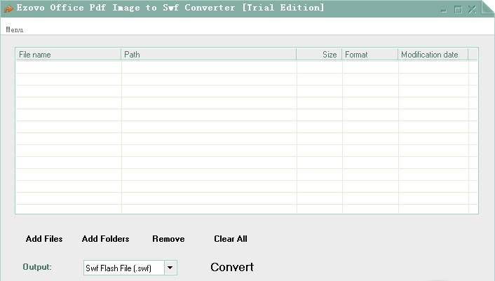 Ezovo Office Pdf Image to Swf Converter