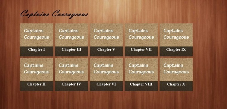 Captains Courageous eBook for Windows 8