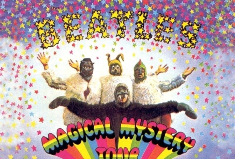 Beatles magical mystery tour wallpaper