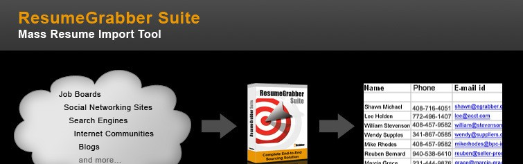 Resume parsing Software - ResumeGrabber