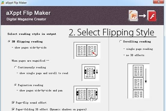 aXppt PowerPoint to Flipbook Converter
