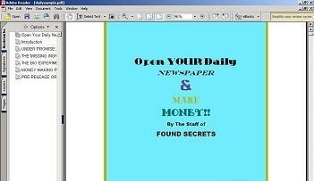 Open Your Daily Newspaper and Make Money newspaper route software
