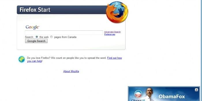 ObamaFox - Barack Obama Firefox Extension descobrindo o alfabeto