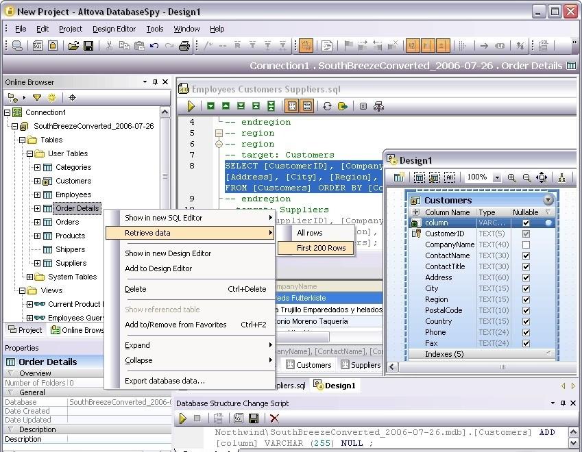 Altova DatabaseSpy 2011 Enterprise Edition