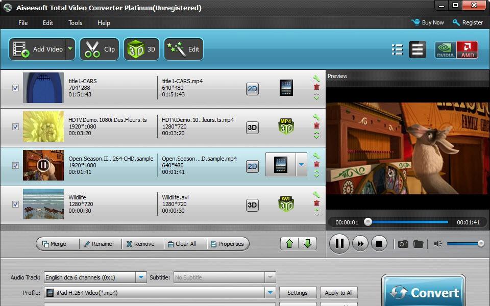 Скачать Aiseesoft Total Video Converter Platinum 6.3.10 + кряк бесплатно.