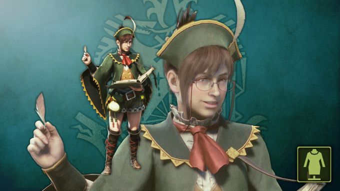Monster Hunter: World - The Handler`s Guildmarm Costume