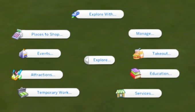 The Explore Mod mod for The Sims 4