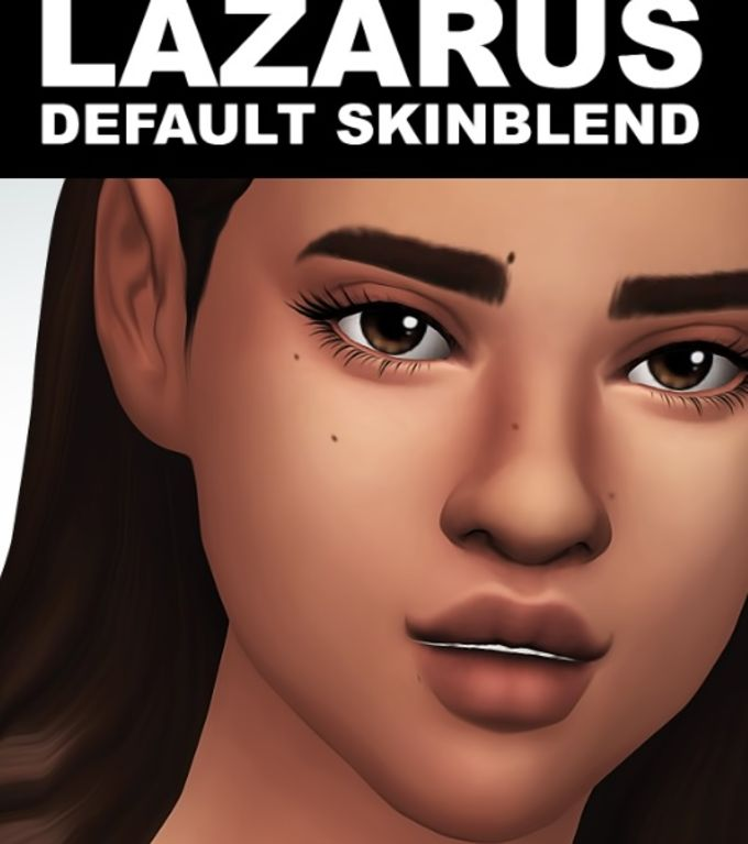 Lazarus Skinblend mod for The Sims 4