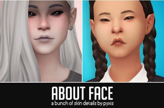 About Face mod for The Sims 4