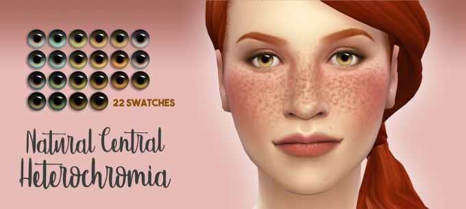 Eyes Collection mod for The Sims 4