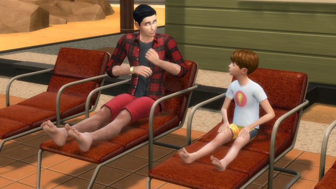 HD Feet mod for The Sims 4