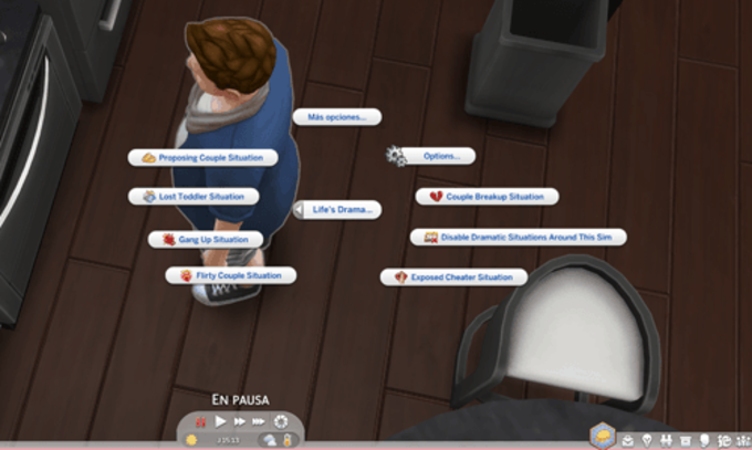 Life`s a Drama mod for The Sims 4