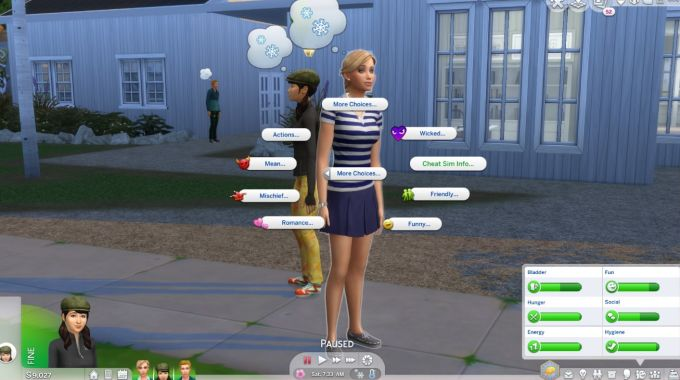 More CAS Traits mod for The Sims 4